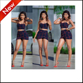 2016 fashion crop top and skirts set outfits women two piece short set sleeveless strapless sexy backless femme vestidos bodycon