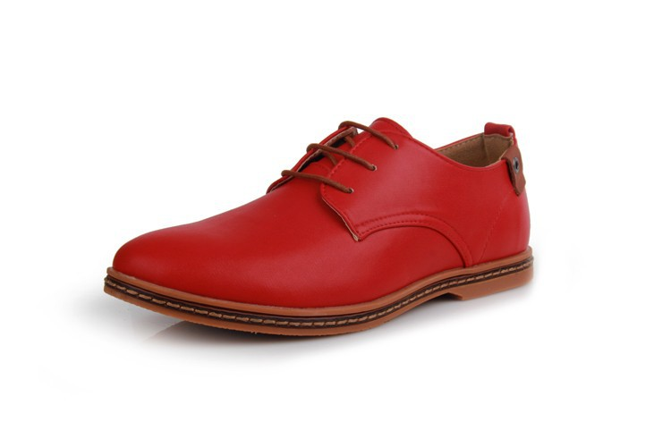 Hot Sale New oxford Casual shoes Men Fashion Men Leather Shoes Spring Autumn Men Flat Patent Leather Men Shoes WGL-K03-1 11