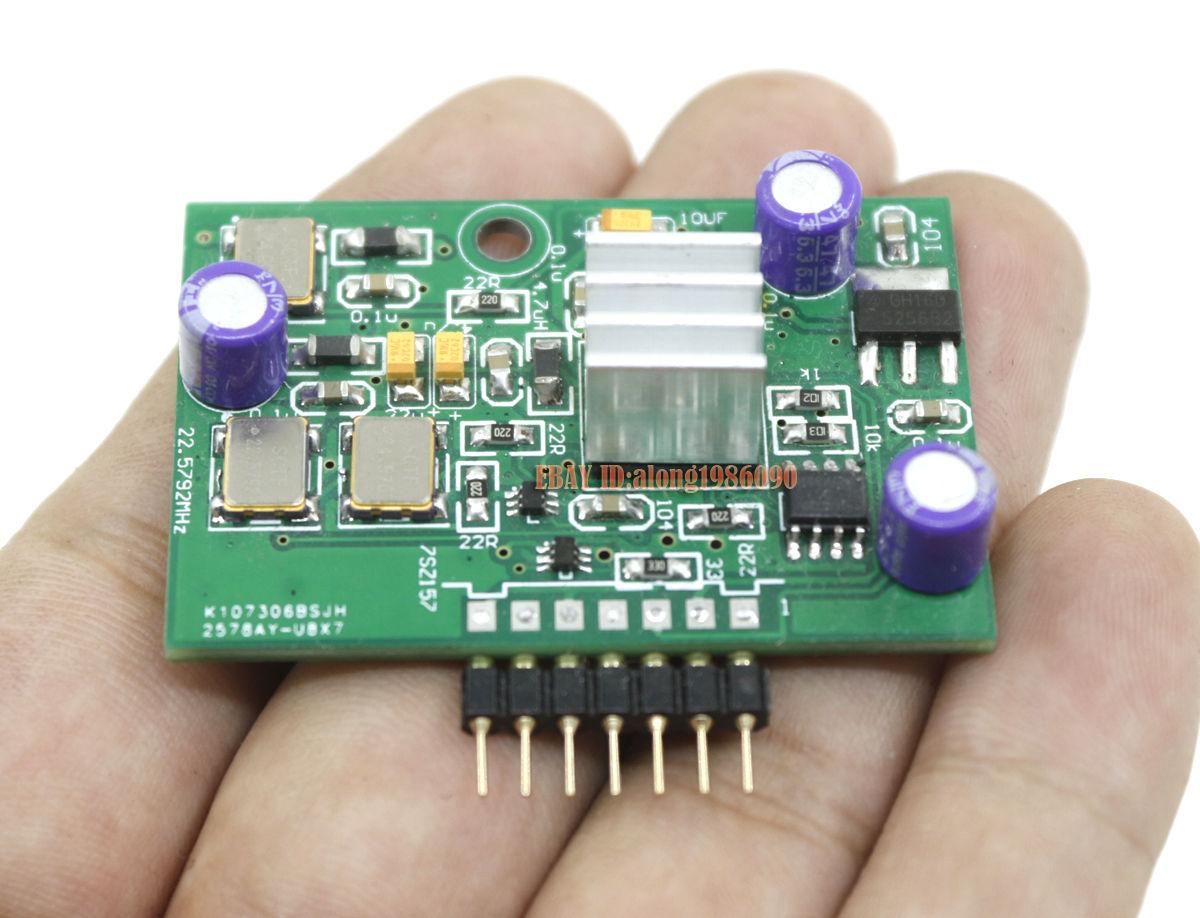 Asynchronous XMOS U8 USB Module Card For AK4399 / ES9018 / DAC7 / DAC9 7PIN
