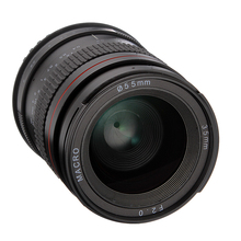 купить 35mm F2.0 Wide Angle Manual Focus MF Macro Prime Lens for Canon EOS 60D 70D 750D 650D 5DII 5DIII Cameras недорого