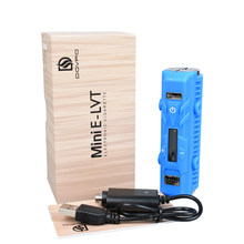 Clearance Original 35W Dovpo Mini E-LVT Box MOD VV/VW Mode Huge Vapor Electronic Cigarette Without Battery(China)