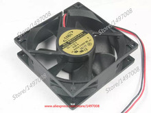 ADDA AD0812XB-A71GL S DC 12V 0.55A 2-wire 2-pin connector 80x80x25mm Server Square fan Free Shipping