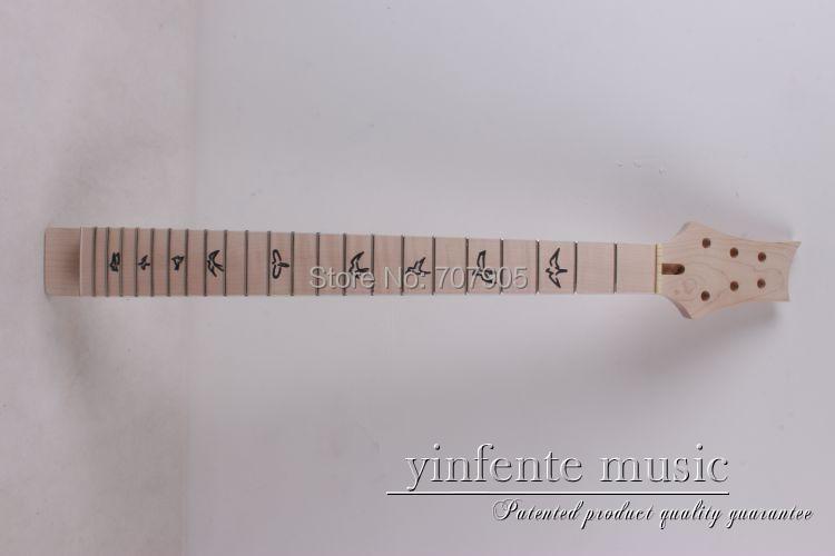 1 pièces guitare électrique de haute qualité manche érable fait et touche en érable
