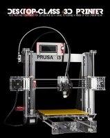 Full assemble LCD 3D printer reprap prusa i3 set of kit frame metal aluminum impressora 3d drucker little monster steel
