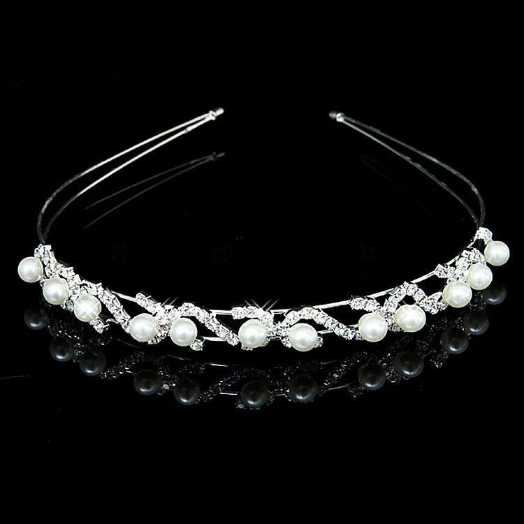 HTB1H2O4IVXXXXbtXXXXq6xXFXXXG Bejeweled Pearl And Rhinestone Crystal Bridal/Prom/Cosplay Crown Tiara - 16 Styles