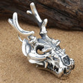 2016 Christmas gift 100% 925 sterling silver necklace pendant jewelry for men women Punk Domineering dragon leader Pendant ZP8