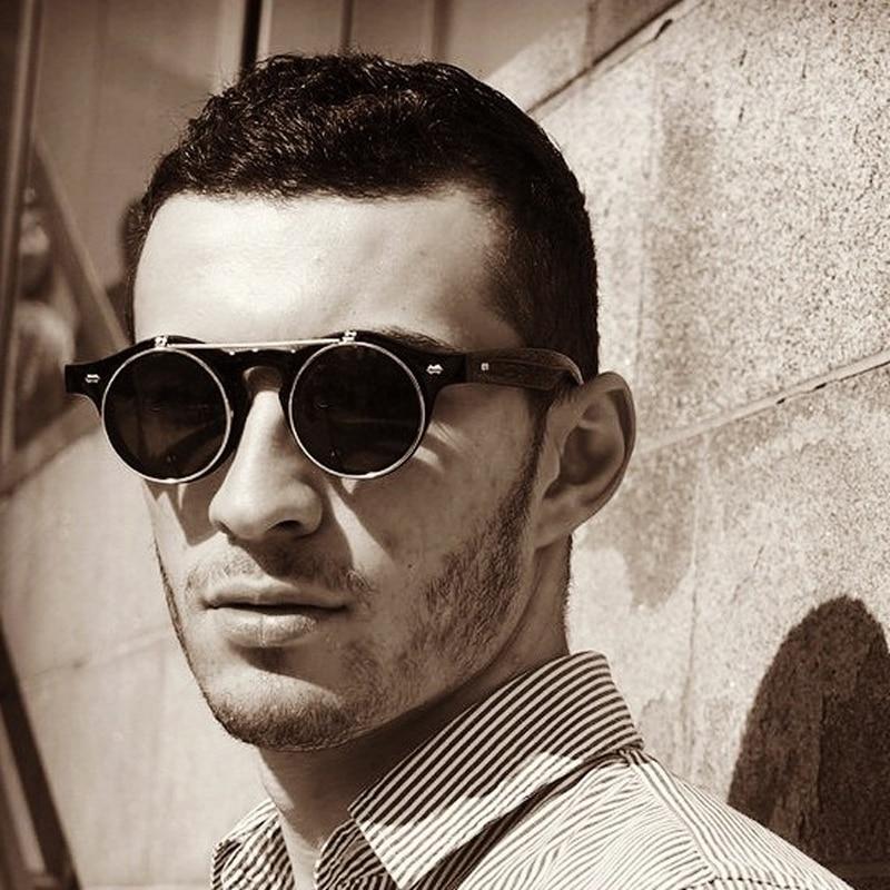 Syze dielli të cilësisë së mirë Unisex Rrokullisje deri në syzet e diellit për gra për burra syze punk përmasa S madhësia UV400 Eyewear T007