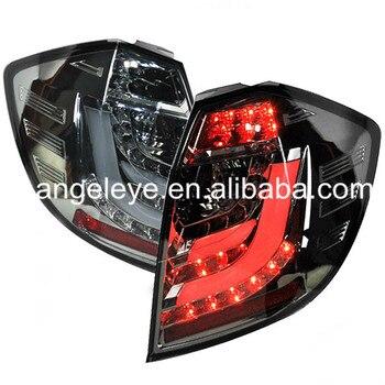 For Honda Fit Jazz LED Tail Lamp hatchback 2009-2012 Year Smoke Black SN