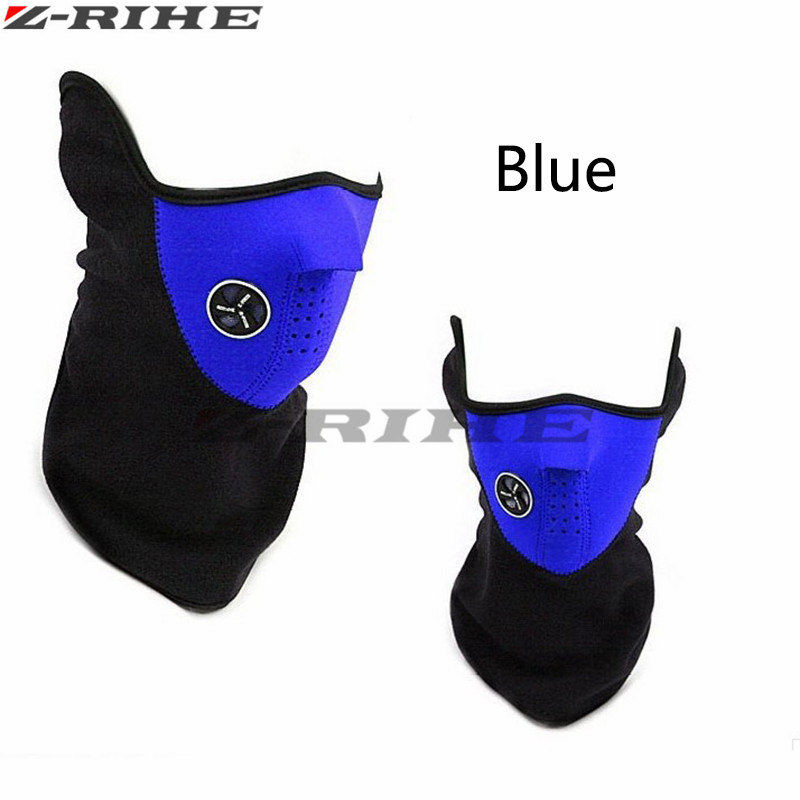 Motorcycle Mask Windproof Motorcycle Face Masks Sports Bike Bicycle For Ski Snowboard Balaclava Winter Warm Moto Headgear
