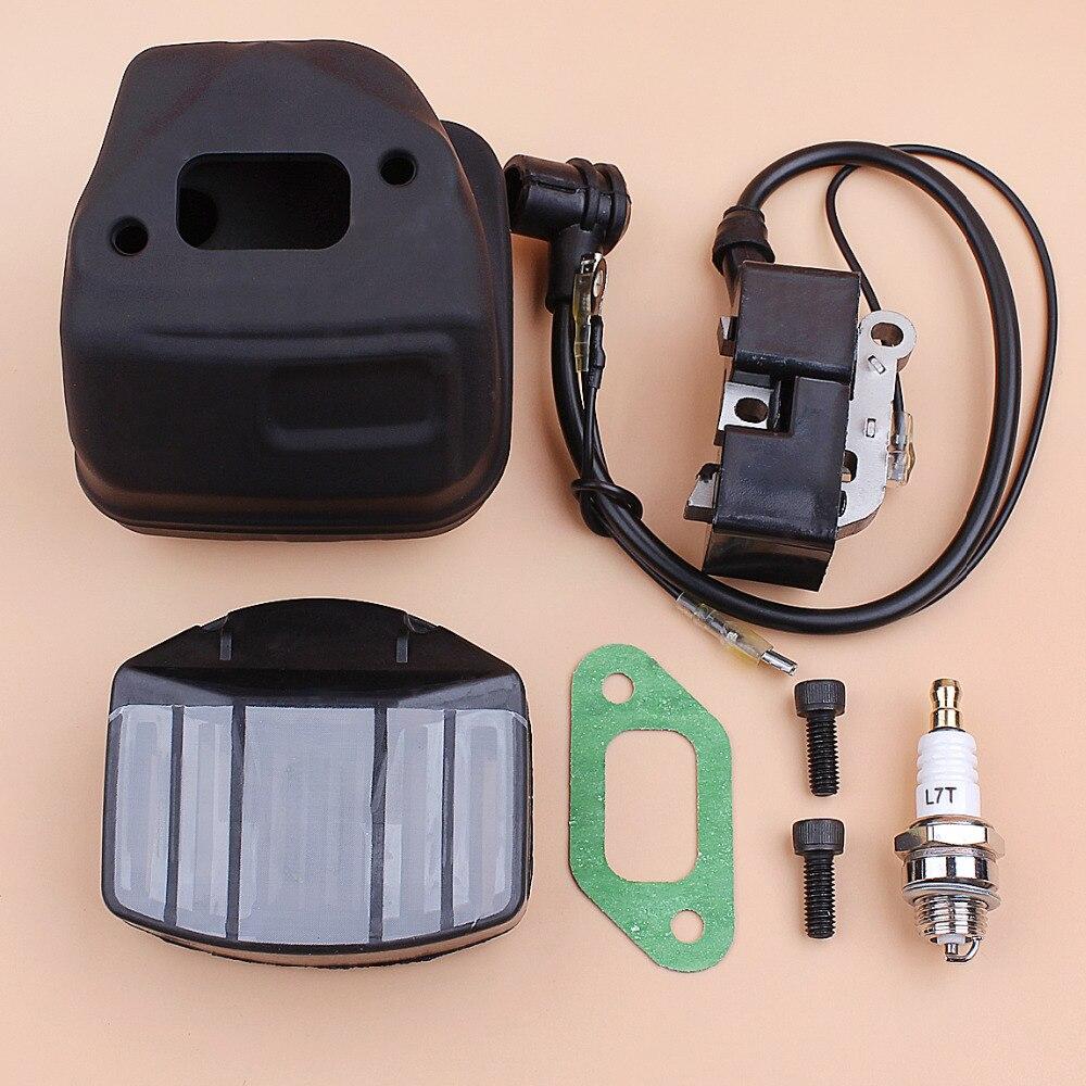Muffler Bolt Gasket Kit Chainsaw Parts For Husqvarna 357XP 357EPA 359EPA Replace
