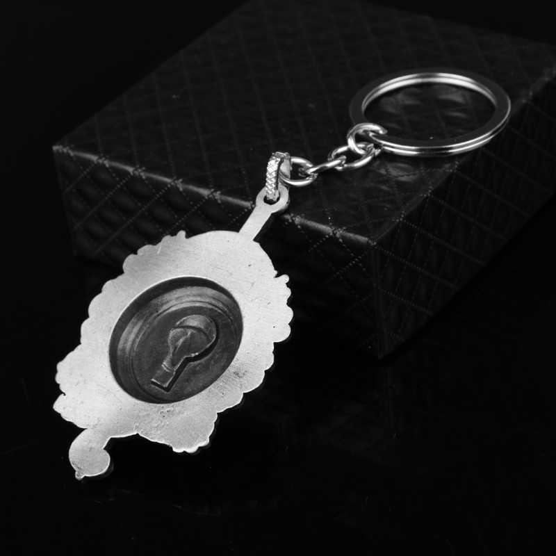 Fantastic Con Thú và Nơi để Tìm Thấy Chúng MUGGLE XỨNG ĐÁNG VỚI Thư Keychain Man Nữ Thời Trang Jeweklry Key ring Chains Key