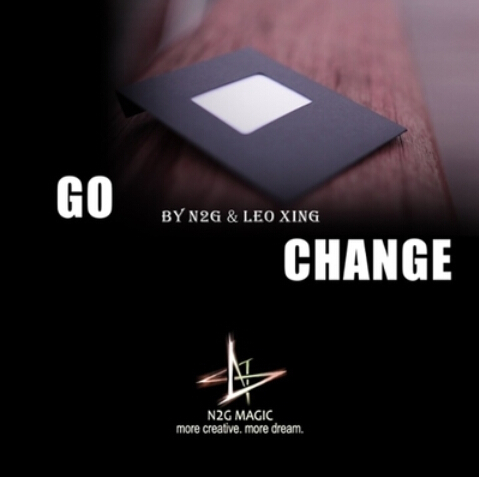 Go Change (Gimmick+DVD) Magic Tricks Card To Envelope Magie Close Up Illusions Props Comedy