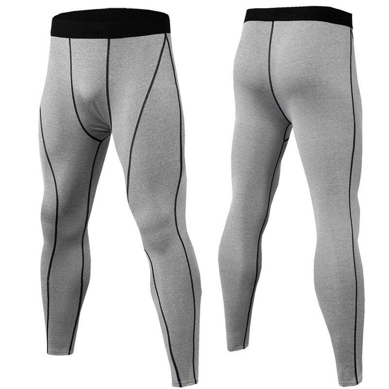 3D printing Skinny Pants Men Training Compression Sweatpants Fitness Streetwear Bodybuilding Leggings Men Gym Jogging Trousers in Leggings from Men 39 s Clothing
