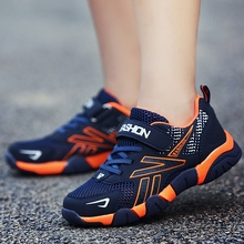 New Cool Casual Youth Boys Kids Shoes Mesh Breathable Children Trainers Size 28-40 Teenage Sneakers Big Summer
