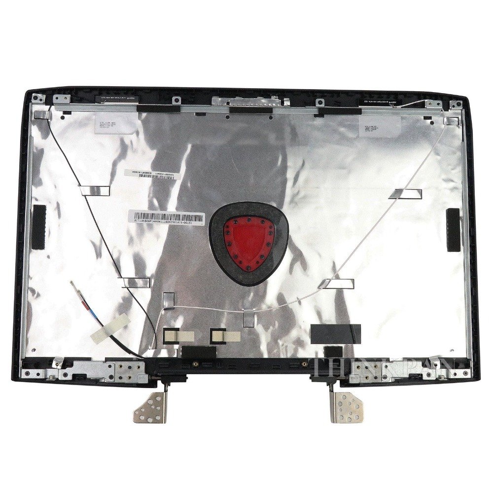 GZEELE NEW for ASUS G751 G751J G751JY G751JL G751JM G751JT LCD Back Cover Lid W Hinges