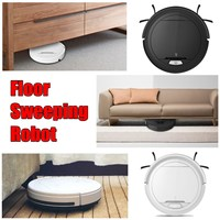 Mini Wireless Aspirador Full automatic floor sweeping robot 7.5cm Height Clean Robot with 2 Side Brush and Big Suction Power