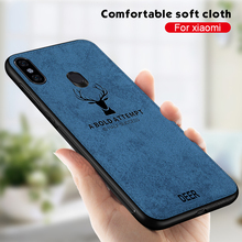 Luxury Phone Case For Xiaomi Redmi Note 7 6 Pro 5 Plus 6A 5A Pocophone F1 Mi 9T K20 8 Cloth Cover Deer Patterned