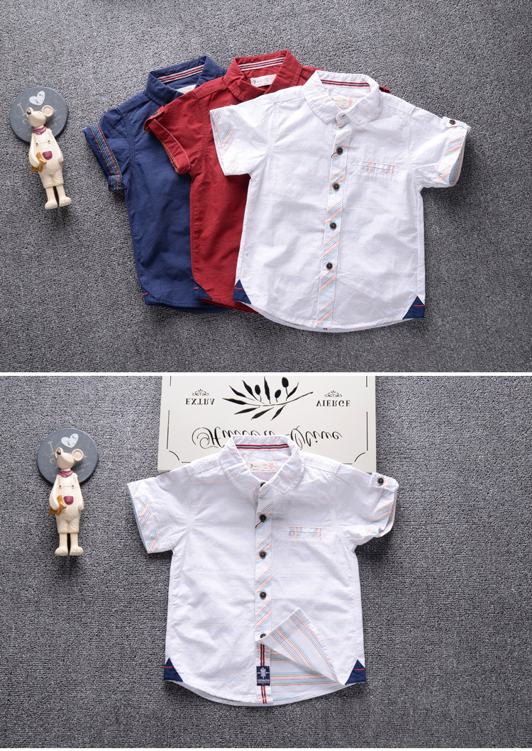 4dad52ca1f59 HTB1H2QuPpXXXXX5XFXXq6xXFXXXI - Shirts for Boys 2017 Summer Fashion Short  Sleeve Brand Design Children Boy Shirt Cotton