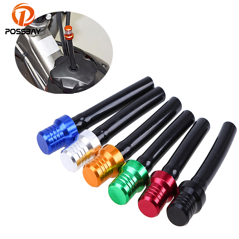 Amiable Possbay Universal Motorbike Motorcycle Gas Fuel Petrol Tank Caps For Cafe Racer 2 Way Valve Vent Breathers Pipe Hose Tube Pipe