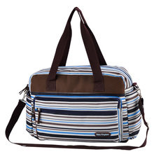 hot deal buy  colorful striped diaper bag fashion maternity mummy messenger bags and multifunctional baby stroller bag baby care nappy change