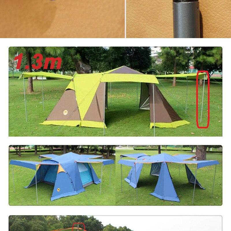 sun abrigo lona varas tenda acessórios