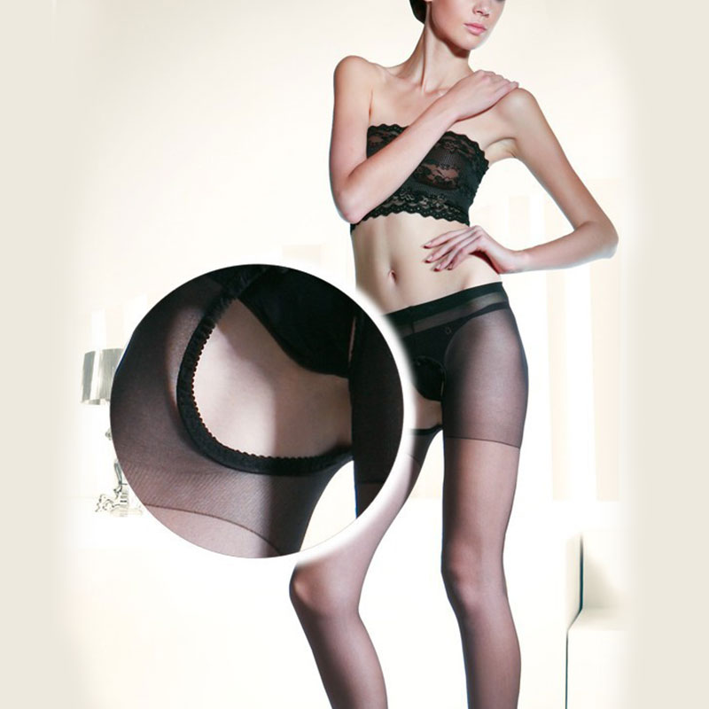 Sexy Body Stockings Bodysuit Double sided Opening Stockings Openwork Pantyhose Women 39 s Summer Hollow Ultra thin Carved Sock in Hosiery from Novelty amp Special Use