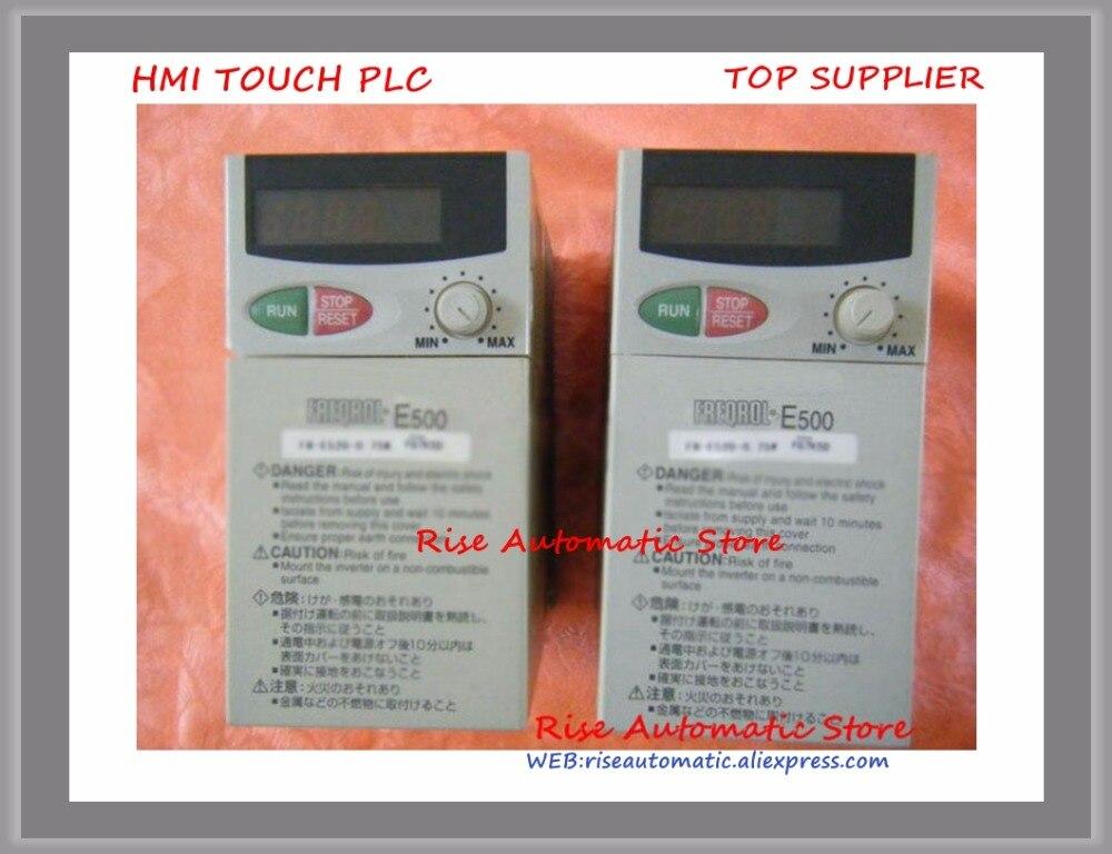 Inverter FR-E520-0.75K 220V 0.75KW Original new new original inverter fr a740 15k c9