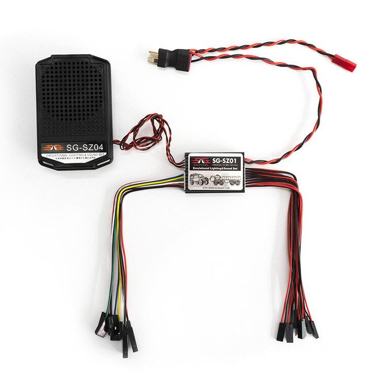 Ensemble de son d'éclairage émulationnel groupe de son de Simulation Audio de voiture composant ESS