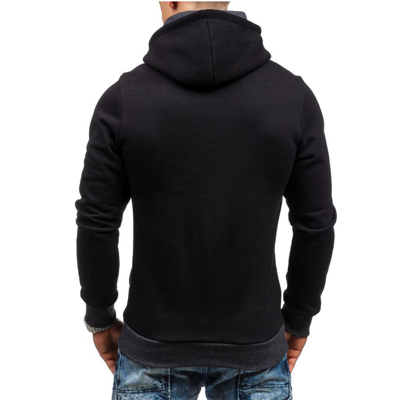 Hip Hop mens hooded zipper 6