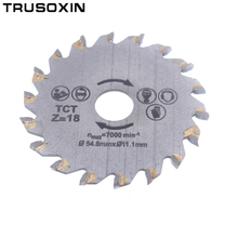 For wood metal granite marble tile brick disc for protable cutting tools electrical chain TCT alloy steel 18Tooth circular saw hot sale mini circular saw multifunction universal saw saw for wood metal granite marble tile brick