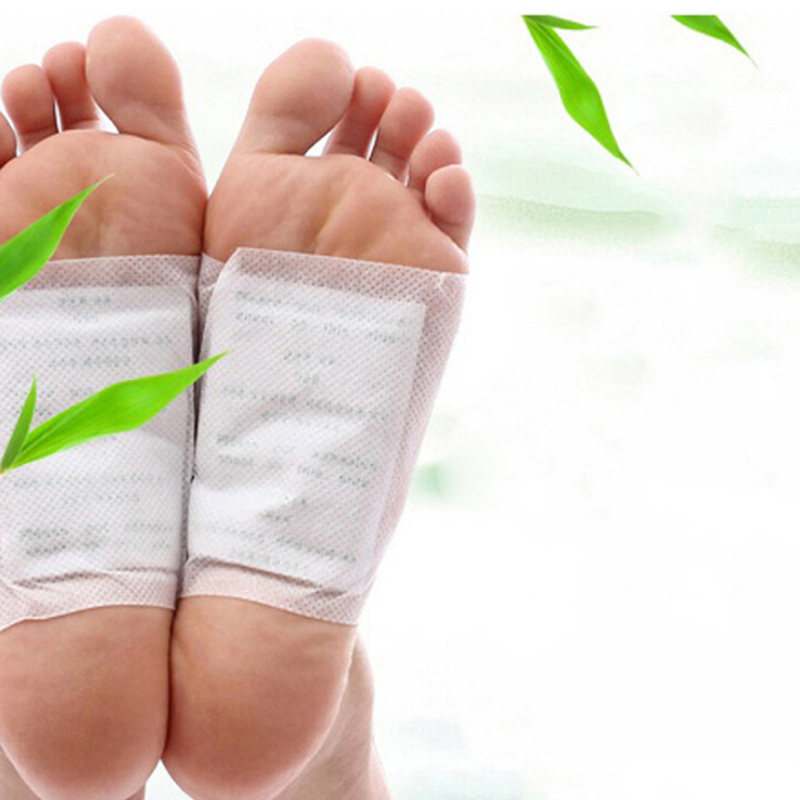 4Bag/8Pcs Foot Pads Detox Foot Pad Patch Feet Care Body Massager Plaster Stress Relief Health Care 8cm X 6cm