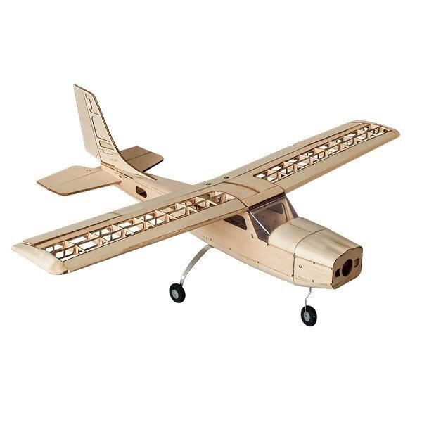 Cessna 960 мм размах крыльев Balsa деревянный RC самолет комплект