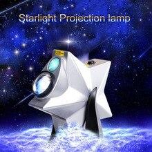 Популярные Звезды Сумерки небо Новинка Ночник проектор светодио дный светодиодный лазерный свет затемнения мигает атмосфера Рождество спальня