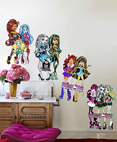 High Quality Monster Inc High Doll Child Room Decoration Wall Stickers For Kids Rooms  Boy Girl Decor Wallpaper Part 23