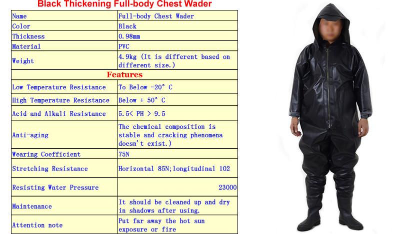 Full-body Chest Wader 11