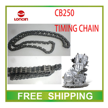 zongshen motorcycle dirt pit bike kayo LONCIN CB250 250cc water air engine timing chain 104loops time small chain atv quad