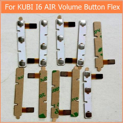 100% New Original Switch On Off Power Volume Button Flex Cable For CUBE I6 Air 3G Conductive Flex With Sticker Replacement Parts
