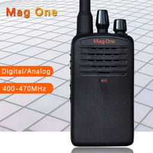 Mag One Digital walkie talkie /Analog two way radio A1D handheld high power 400-470MHz walkie talkie travel console transceiver