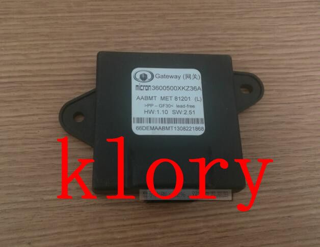 3600500XKZ36A  Gateway  control module  FOR  GREAT WALL HAVAL H6 SPORT straight to advanced digital student s book pack internet access code card