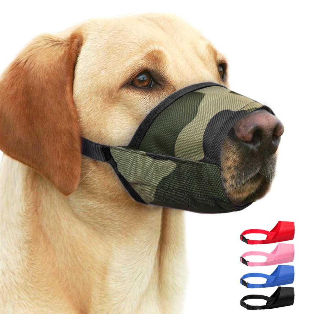 Dog muzzle Spiked Padded large pet Safe leather Protection Mask 7 colors Muzzles