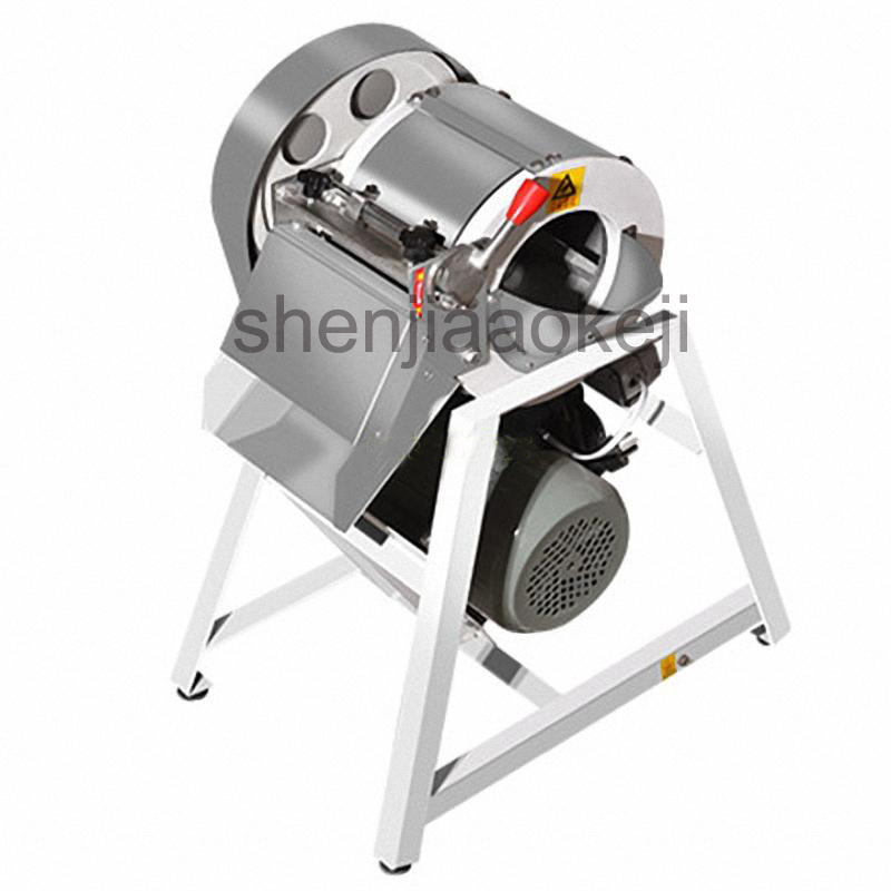 Stainless steel electric shredder Commercial vegetable slicer Professional vegetable shredder 220v1500w 1pc new automatic stainless steel commercial vegetable