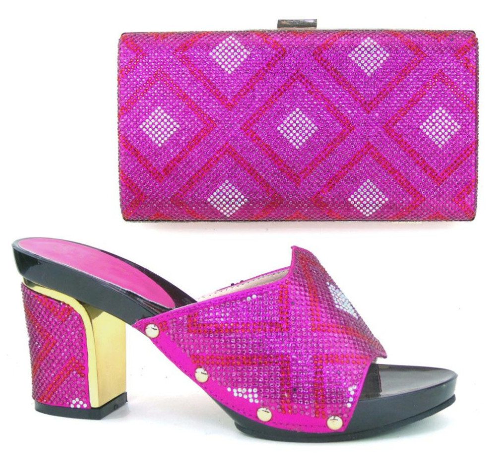 Fashion Italy Design Italian Matching Shoe And Bag Set To Match For Party High Quality African Shoes Matching Bag Set CT16-53 mf012 african shoes and bag set for nigeria lady black color italian style fashion italy shoe and bag to matching party