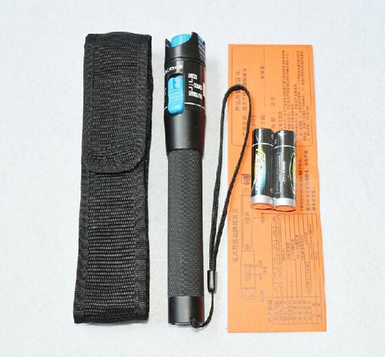 1 mw (5 mw 10 mw 15 mw 20 mw 30 mw) Láser Rojo de Luz De Fibra Óptica Cable Tester medidor de potencia óptica Visual Fault Locator Checker para 1-5 KM