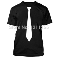ee525352a4 Black And White Tie T Shirt Funny Gift Present T Shirt Men 100 Cotton Short  Sleeve