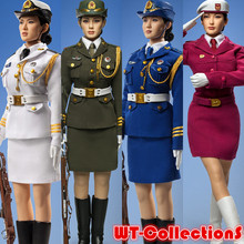 1/6 scale figure doll sexy Female Honor Guard from China Army seamless body with stainless steel skeleton 12″ Action Figure Doll