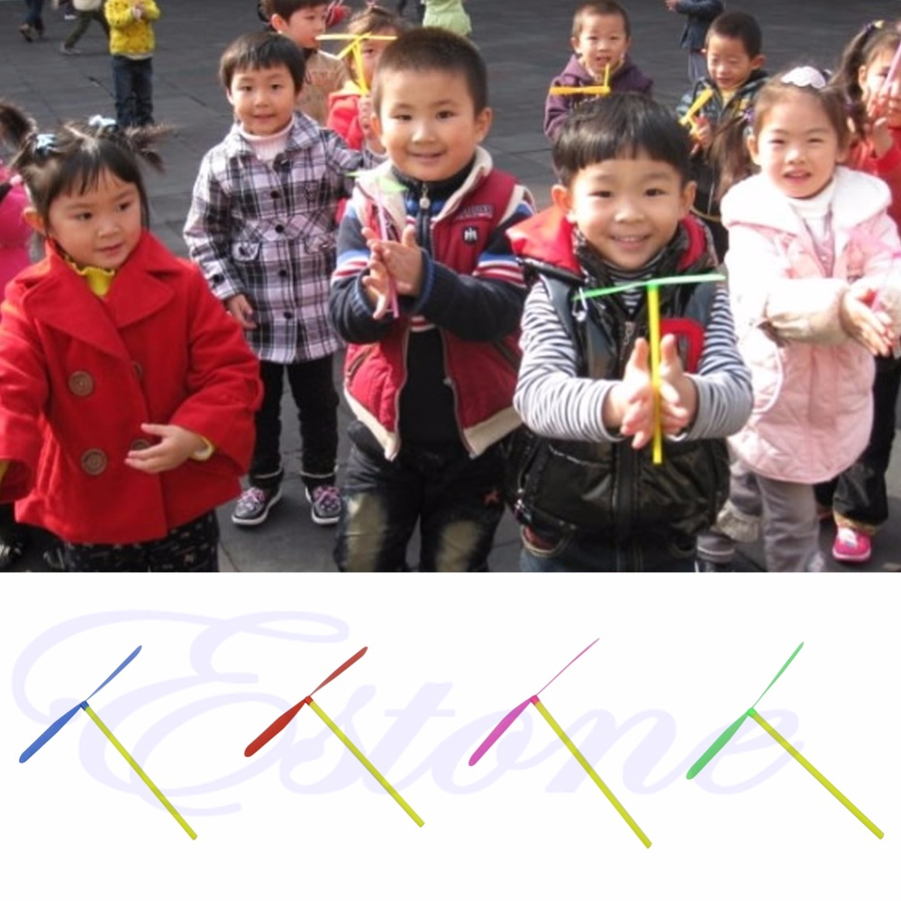 12pcs-Plastic-Bamboo-Dragonfly-Propeller-Outdoor-Toy-Kids-Children-Gift-Flying-P101-1