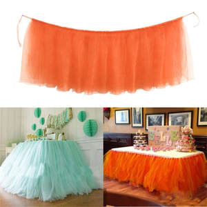 Ouneed For Wedding 1pc Cover Birthday Party Table Cloth