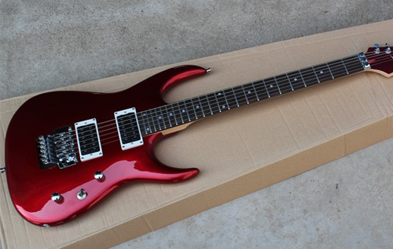 2018 New red electric guitar, high quality guitar custom shop, free shipping!
