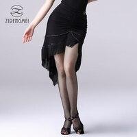 Latin dance skirt fringed skirts Chalcamba dance practice dance skirt professional performance skirt Z2064
