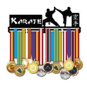 Image 2 - DDJOPH Karate medal hanger Medal display rack Sport medal hanger Karate medal holder 40cm L hold 36+medals